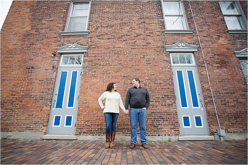 Ypsilanti, Michigan Engagement Session by Kendra Koman Photography