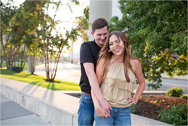 Detroit Engagement Session by Kendra Koman Photography