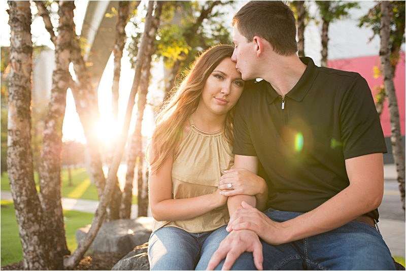 Alma & Tyler Detroit Engagement Session