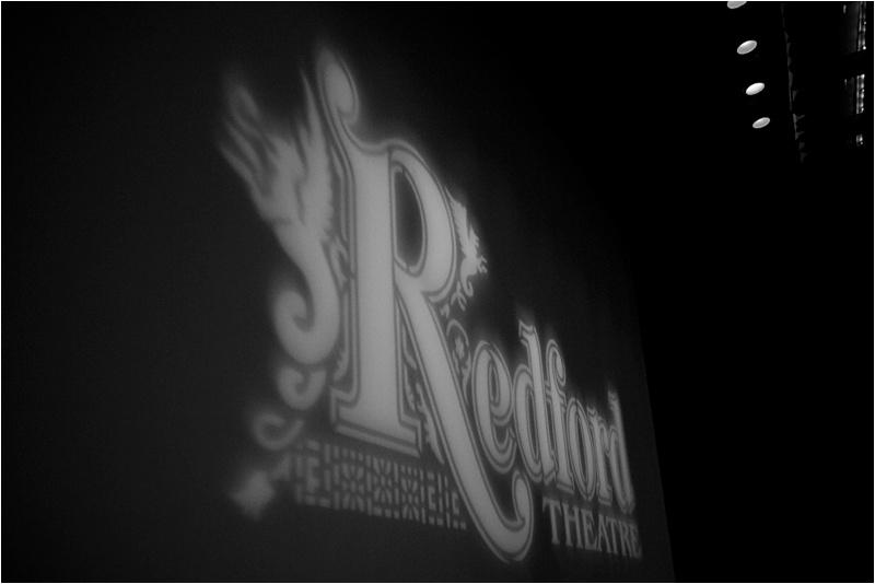 Redford Theater Wedding